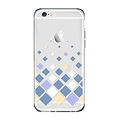 Чехол для iphone 7 6 геометрический узор tpu мягкая ультратонкая задняя крышка чехол iphone 7 плюс 6 6s плюс se 5s 5 5c 4s 4
