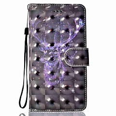 Case For Huawei P8 LITE P9 LITE Animal Pattern 3D PU Wallet Leather Card Holder with Hand Strap for Huawei P10 P10 LITE Y5 II P8 LITE 2017
