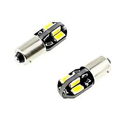 Недорогие Освещение салона авто-2pcs BA 9S × Автомобиль Лампы 2.5W SMD 5730 260lm Светодиодная лампа Внутреннее освещение
