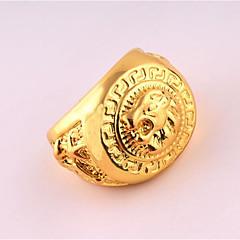 Ανδρικά Δαχτυλίδι Μοναδικό Πανκ Στυλ κοστούμι κοστουμιών Με Επίστρωση Ροζ Χρυσού Κράμα Κοσμήματα Για Γενέθλια Καθημερινά