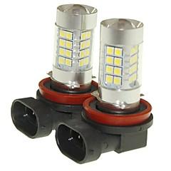 Недорогие Противотуманные фары-SENCART 2pcs PGJ19-2 / D8S / C Автомобиль Лампы 36W SMD 3030 1500-1800lm Светодиодные лампы Противотуманные фары