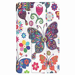 Painting Pattern Three fold PU Leather Case with Stand for Huawei MediaPad T3 7.0 inch Tablet PC