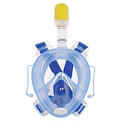 Μάσκες Κατάδυσης Κατά της ομίχλης Αδιάβροχη Στεγνή κορυφή Μάσκες για ολόκληρο το πρόσωπο 180 Μοίρες Καταδύσεις & Κολύμπι με Αναπνευστήρα