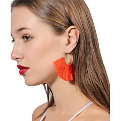 preiswerte Ohrringe-Damen Mehrschichtig / Quaste Tropfen-Ohrringe - Personalisiert, Böhmische, Modisch Rot / Rosa / Hellblau Für Alltag / Zeremonie / Party