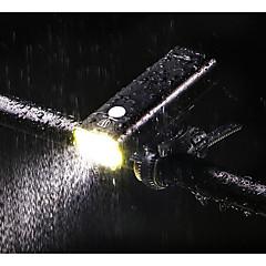 hesapli -Tutucu Bisiklet Işıkları XP-G2 Bisiklet LED Işık Dinmable USB 400 Lümen USB Sıcak Beyaz Bisiklete biniciliği