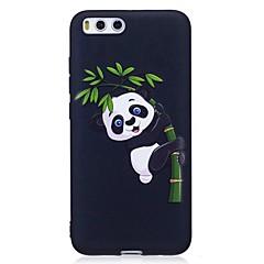 Чехол для xiaomi mi 6 красныйmi 4x обложка выбитый узор задняя крышка чехол panda soft tpu