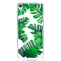 Case For Sony X XA Case Cover Banana Leaves Pattern High Penetration TPU Material Scratch Phone Case For Sony E5