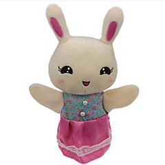 Plüschtiere Puppen Bildungsspielsachen Fingerpuppe Spielzeuge Rabbit Bär Tiger Tiere Kind Stücke