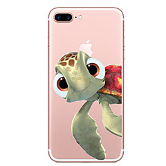 tanie Etui do iPhone 7-Kılıf Na Apple iPhone X iPhone 8 Przezroczyste Wzór Czarne etui Zwierzę Miękkie TPU na iPhone X iPhone 8 Plus iPhone 8 iPhone 7 Plus