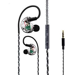 abordables Ecouteurs & Casques Audio-Dans l'oreille / Bande de cou Câblé Ecouteurs Plastique Sport & Fitness Écouteur Avec contrôle du volume / Avec Microphone Casque