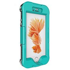 Чехол для Apple iphone 7 плюс iphone 7 крышка водонепроницаемая вода / грязь / ударопрочный узор полный корпус корпус сплошной цвет