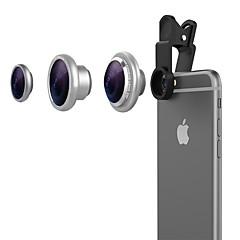 וינסיק מצלמה דיגיטלית עדשות עדשה זווית רחבה עדשה 10x 10x עדשת מאקרו עדשת עין הדגים עבור אייפד iPhone huawei xiaomi Samsung