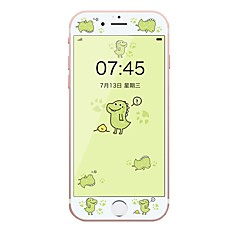 Недорогие Защитные пленки для iPhone 6s / 6-Защитная плёнка для экрана Apple для iPhone 6s iPhone 6 Закаленное стекло 1 ед. Защитная пленка на всё устройство 3D закругленные углы