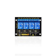2016 nowy! keyestudio 4-kanałowy moduł przekaźnikowy 5V dla arduino