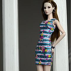 Vestidos Vestidos Para Boneca Barbie Vestidos Para Menina de Boneca de Brinquedo