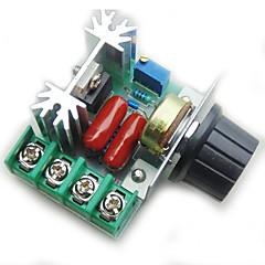 お買い得  Arduino 用アクセサリー-PWM ACモーター速度制御コントローラ2000w調整可能な電圧調整