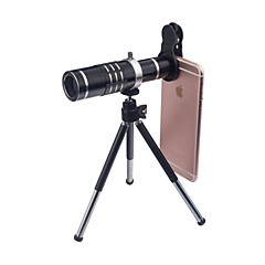 abordables Liquidación-Macro 18X 0.45X Gran Angular Lente de la cámara Lens for Smartphone Xiaomi Huawei Samsung iPhone