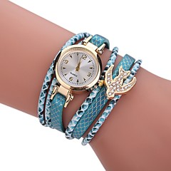 Women's Fashion Watch Simulated Diamond Watch Bracelet Watch Chinese Quartz Imitation Diamond Alloy Fabric Band Bohemian Charm Elegant