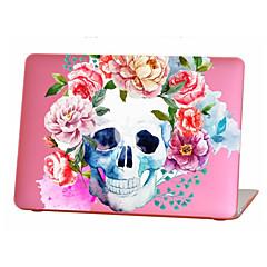 abordables Accessoires de MacBook-MacBook Etuis pour Fleur Crânes TPU MacBook Air 13 pouces MacBook Air 11 pouces MacBook Pro 13 pouces avec affichage Retina