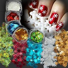 5 Nail Art dekoráció strasszos gyöngy smink Kozmetika Nail Art Design