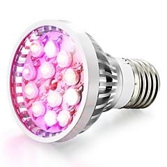 billige LED lyspærer-1pc 8W 600-680 lm E14 GU10 E26/E27 LED-vækstlampe 12 leds Højeffekts-LED Naturlig hvid Rød Blå UV Vekselstrøm 85-265V