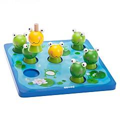 DHZ-kit Bouwblokken Educatief speelgoed Speeltjes Rechthoekig Vierkant Kikker Stuks Jongens Meisjes Geschenk