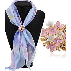 여성용 브로치 라인석 패션 클래식 라인석 합금 보석류 보석류 제품 일상 캐쥬얼