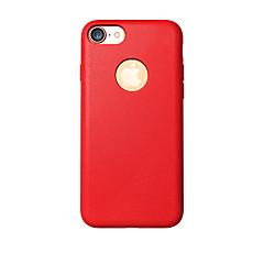 Недорогие Кейсы для iPhone 7-Кейс для Назначение iPhone 7 Plus IPhone 7 Apple iPhone 8 iPhone 8 Plus Защита от удара Кейс на заднюю панель Сплошной цвет Мягкий ТПУ для