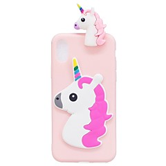 For iPhone X iPhone 8 Case Cover Shockproof DIY Back Cover Case Unicorn 3D Cartoon Soft TPU for Apple iPhone X iPhone 8 Plus iPhone 8