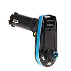 Недорогие Bluetooth гарнитуры для авто-Автомобиль bt618c V2.1 Комплект громкой связи С Speaker Music FM приемники МР3 плеер