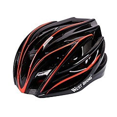 tanie -West biking Kask Kask rowerowy CE Kolarstwo 27 Otwory wentylacyjne Trwały Lekki Kolarstwo Rower