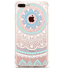 Назначение iPhone 7 iPhone 7 Plus Чехлы панели Ультратонкий С узором Задняя крышка Кейс для Кружева Печать Мягкий Термопластик для Apple