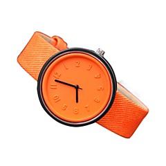 お買い得  レディース腕時計-女性用 リストウォッチ カジュアルウォッチ 本革 バンド カジュアル / ファッション ブラック / 白 / ブルー