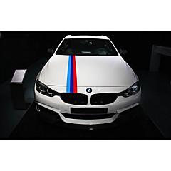 お買い得  カーデコレーション-BMWのフードのためのm色のフロントバンパーステッカーデカールステッカー