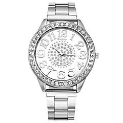 preiswerte Damenuhren-Damen Modeuhr / Simulierter Diamant Uhr Designer / Imitation Diamant / schweizerisch Metall Band Charme Silber / Gold / Rotgold / Ein Jahr / TY 377A