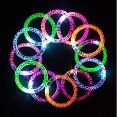 3 db fluoreszcens stick / elektronikus vezetett flash karkötő / fénykibocsátó karkötő