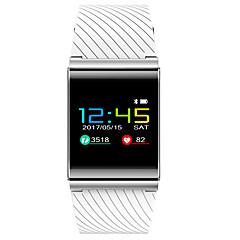 voordelige Smartwatches-ips sr10 kleurrijke oled slimme armband bloeddruk zuurstof hartslag monitor bluetooth waarschuwing fitness tracker activiteit voor Android