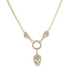Жен. Ожерелья с подвесками Геометрической формы В форме черепа Искусственный бриллиант Сплав Базовый дизайн По заказу покупателя Бижутерия