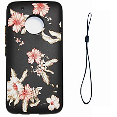 Case For Motorola Moto G5 Plus G5 Flower Pattern Back Cover Case Soft TPU