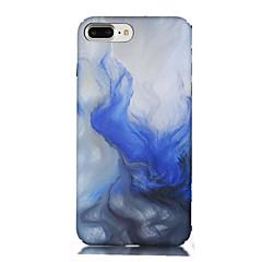 Назначение iPhone 7 iPhone 7 Plus Чехлы панели Ультратонкий С узором Задняя крышка Кейс для Градиент цвета Мягкий Термопластик для Apple
