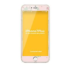 voordelige -Gehard Glas Screenprotector voor Apple iPhone 7 Plus Volledige behuizing screenprotector 9H-hardheid Explosieveilige Patroon