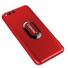 Недорогие Чехлы и кейсы для Xiaomi-Кейс для Назначение Xiaomi Кольца-держатели Кейс на заднюю панель Сплошной цвет Мягкий ТПУ для Xiaomi Mi 6