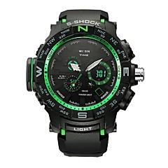 Men's Sport Watch Smart Watch Digital Watch Wrist watch Swiss Digital LED Calendar Chronograph Water Resistant / Water Proof Dual Time