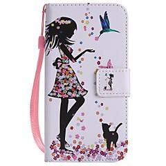 Недорогие Кейсы для iPhone-Назначение iPhone X iPhone 8 iPhone 8 Plus Чехлы панели Бумажник для карт Кошелек со стендом Флип С узором Чехол Кейс для Соблазнительная