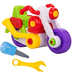 Bausteine Spielzeug-Autos Motorräder Spielzeuge Motorrad Heimwerken Stücke