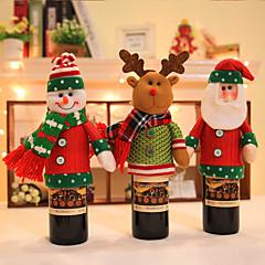 2pc vrolijke kerstman sneeuwpop paar stoelhoes kerstversiering ornament navidad diner decor stoel stelt cadeau voorraden