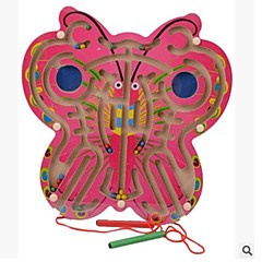 知育玩具 知育用フラッシュカード バタフライ ウッド 6歳の上 1-3歳 3-6歳
