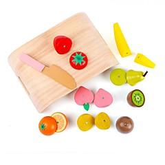 Juegos de Rol Kit de Bricolaje Bloques de Construcción Juguete Educativo Juguetes Rectangular Cuadrado friut Unisex 1 Piezas