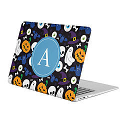 MacBook Funda para MacBook Air 13 Pulgadas MacBook Air 11 Pulgadas MacBook Pro 13 Pulgadas con Pantalla Retina Cráneos Halloween