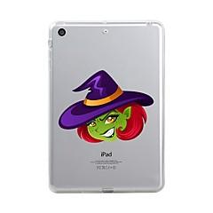עבור iPad (2017) כיסויים מכסים ל שקוף תבנית כיסוי אחורי מגן שקוף חג ליל כל הקדושים רך TPU ל Apple iPad (2017) iPad Pro 12.9'' iPad Pro
